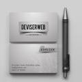 Premium Business Card Design Template PSD