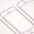 Sketch Sheet PDF- iPhone Wireframe Template Mockup