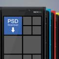 Windows Phone Mockup PSD - Nokia Lumia 920 template