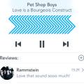 iOS iPhone Social Music Player PSD