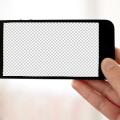 iPhone 5 Horizontal Mockup Template PSD