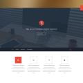 Create Flat Web Template PSD