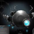 Flying Beetles Spacecraft Free PSD
