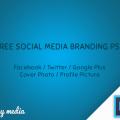 Free Social Media Branding Template PSD
