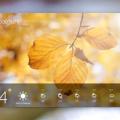 PSD File Weather Forecast App Design