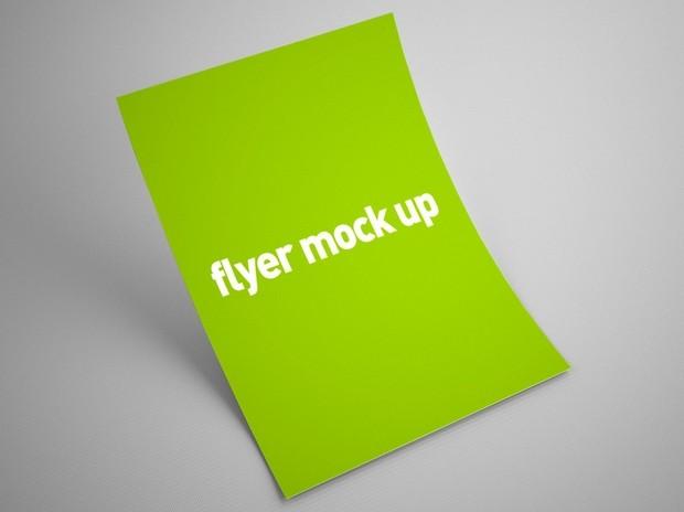 flyer mock up psd