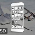 Transparent iPhone 6 Mockup PSD Download
