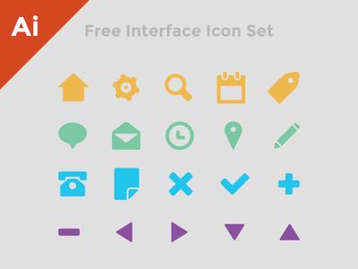 Free Interface Icon Set