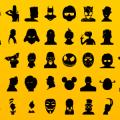 Free Silhouette icon Set Vector