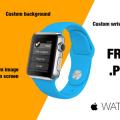 Apple WATCH Mockup Kit Free PSD