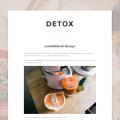 Detox – Blog Template For Ghost
