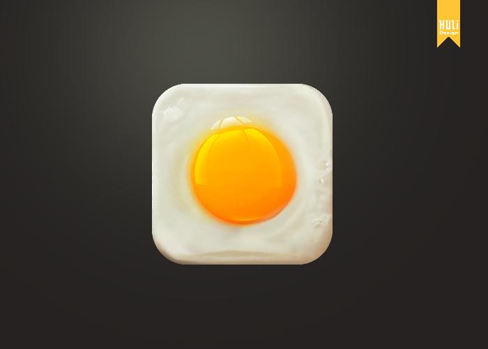 Egg Yolks icon psd