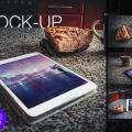 Free PSD ios iPad Mockup Template