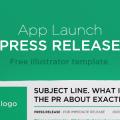 Free Press Release Illustrator Template