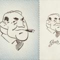 Gent Vector Illustration – Gentleman Freebie