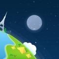 Vector Planet from Flat Studio