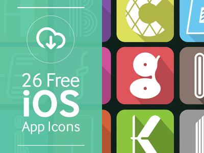 26 Free iOS Alphabet App Icons