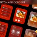 Apple Watch App Concept – Free .Sketch Download