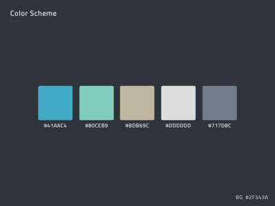 PSD Color Scheme Color Palette