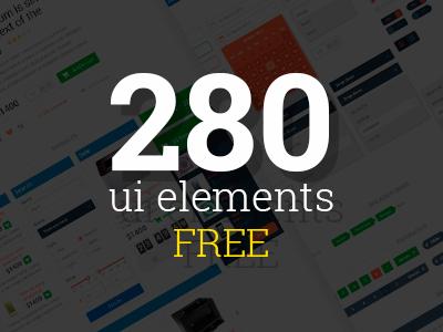 280 UI Elements