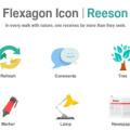 Free Flexagon Icons