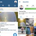 Free Instagram UI Mockup Psd Download