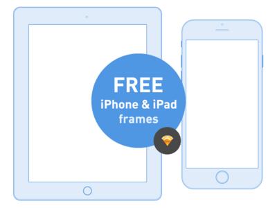 Free Ios iPhone and iPad frames