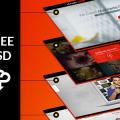 Free Visual Box Mockup PSD Template