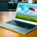 Macbook air mockup psd free download
