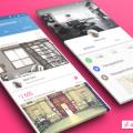 Material Design App sketch