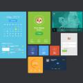 Vector Flat UI Design Elements