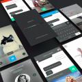 iOs 8 UI Design Kit PSD