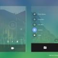 Android Camera UI Kit PSD