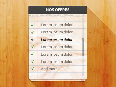 Checklist PSD