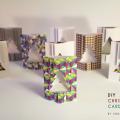DIY Folded Christmas Cards Template