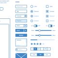 Evolving Reusable Sketch Wireframe UI kit