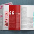 Free 4K Magazine Mockup PSD Template Download