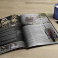 Free Magazine Mockup PSD Template Download