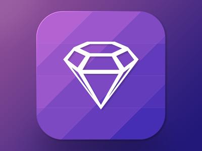Freebie Sketch Icon Diamond