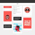 Responsive Grid Tumblr Theme Template