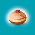 Vector Jelly Doughnut