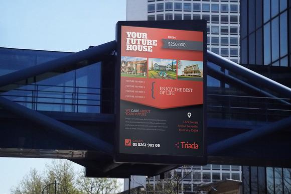 Bus Stop Billboard Print Template Design Free PSD | Free PSD,Vector ...