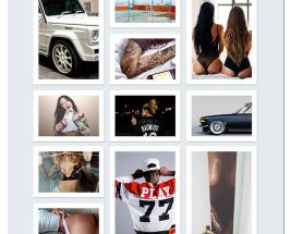 Clean Tumblr Free PSD Template