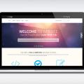Creative One Page portfolio PSD web template