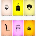 FREE illustrator Poster series Vector AI