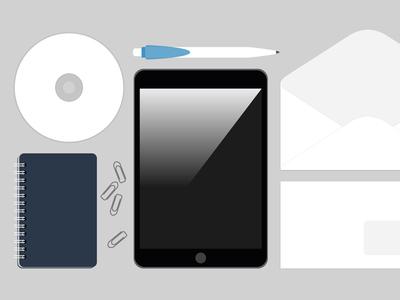 Free Branding Template PSD Download