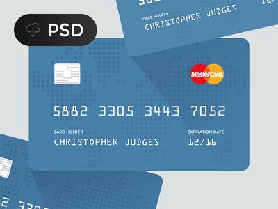 Free Credit Card PSD (Master Card and Visa)
