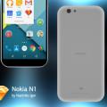 Free Nokia N1 Mockup Sketch