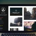 Free PSD Portfolio Template Design