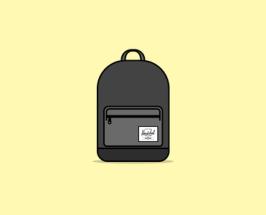 Herschel Backpack Free PSD